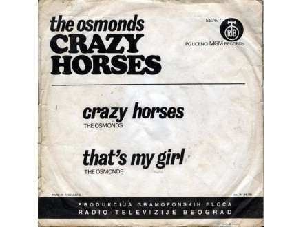 Osmonds, The - Crazy Horses