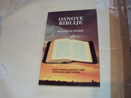 Osnove biblije,manuelni studij