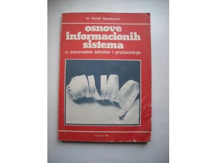 Osnove informacionih sistema,Đorđe Nadrljanski