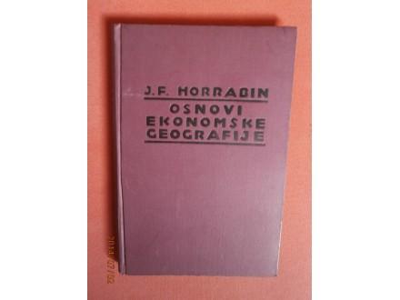 Osnovi ekonomske geografije, J. F. Horrabin