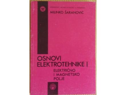 Osnovi elektrotehnike I  Milinko Šaranović