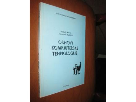 Osnovi kompjuterske tehnologije (drugi primerak)