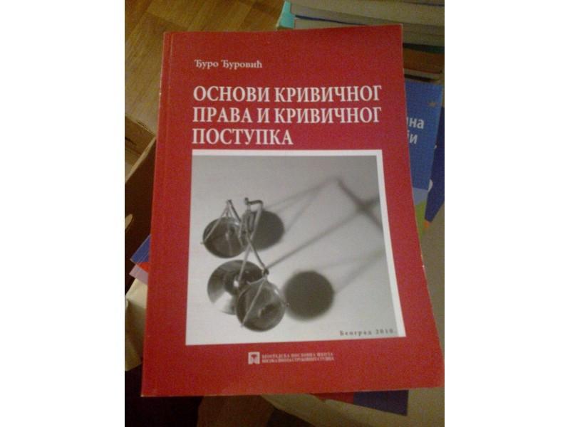 Osnovi krivičnog prava i krivničnog postupka - Đurović