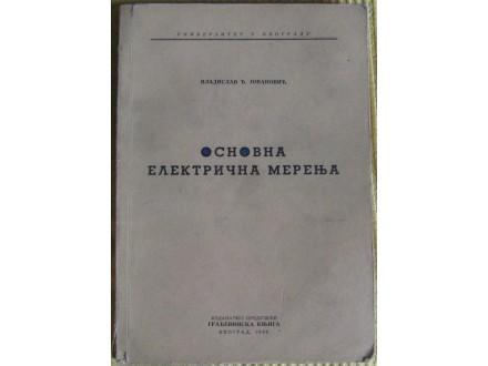 Osnovna električna merenja  Vladislav Jovanović