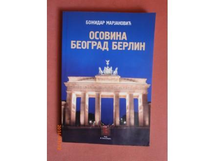 Osovina Beograd Berlin, Bozidar Marjanovic