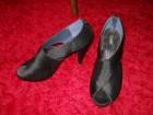 Otvorena cipela- sandala, elegantna, crna, br. 36