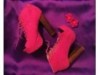 Otvorene pink cipele