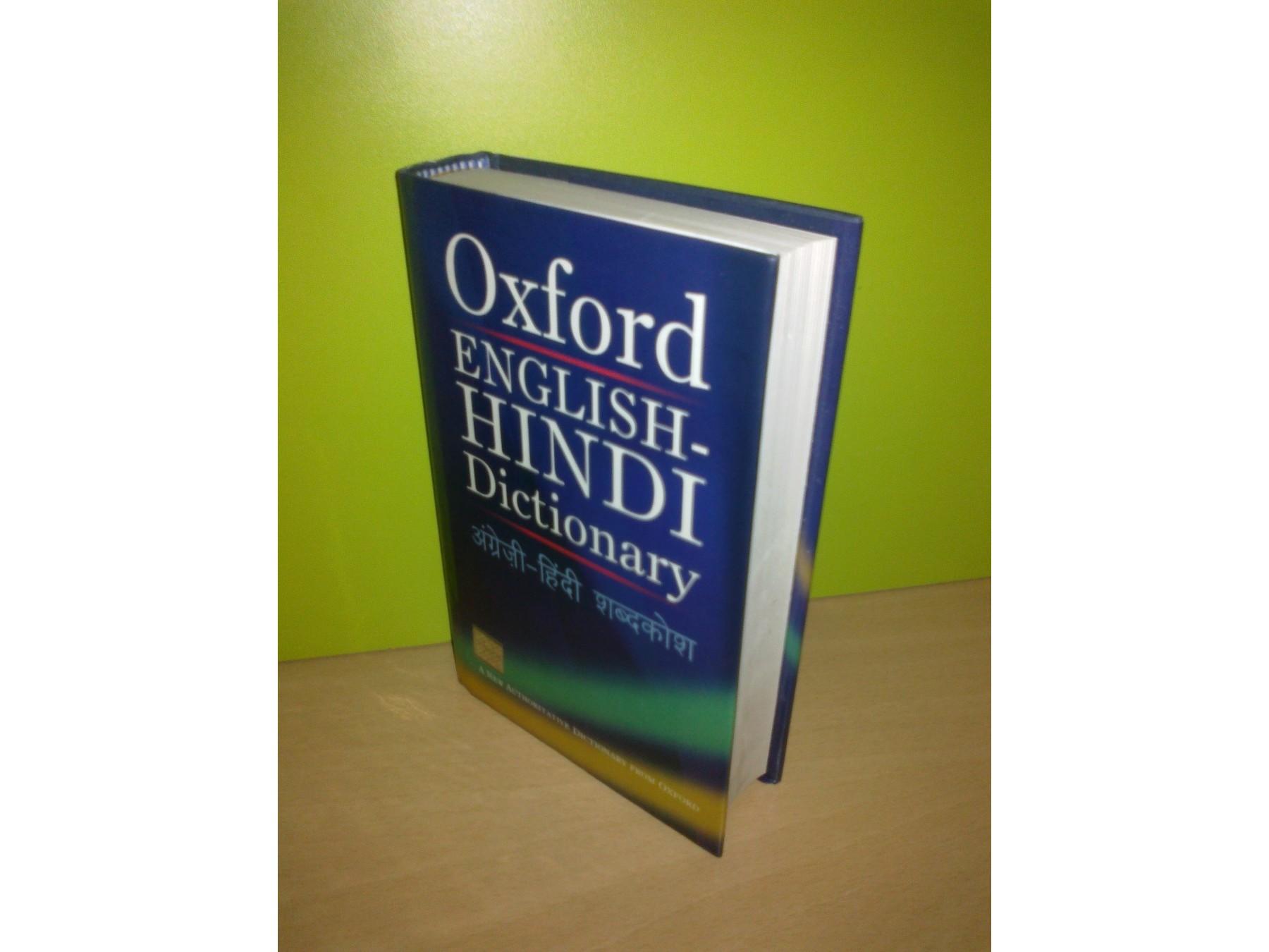 Oxford ENGLISH-HINDI Dictionary ,novo - Kupindo com (36592039)