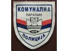 Oznaka Komunalne policije Paracin