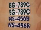 Oznake za ČAMCE i SPLAVOVE  -nalepnice vodootporne