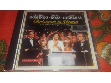P. Domingo·D.Ross·J. Carreras ‎– Christmas In Vienna
