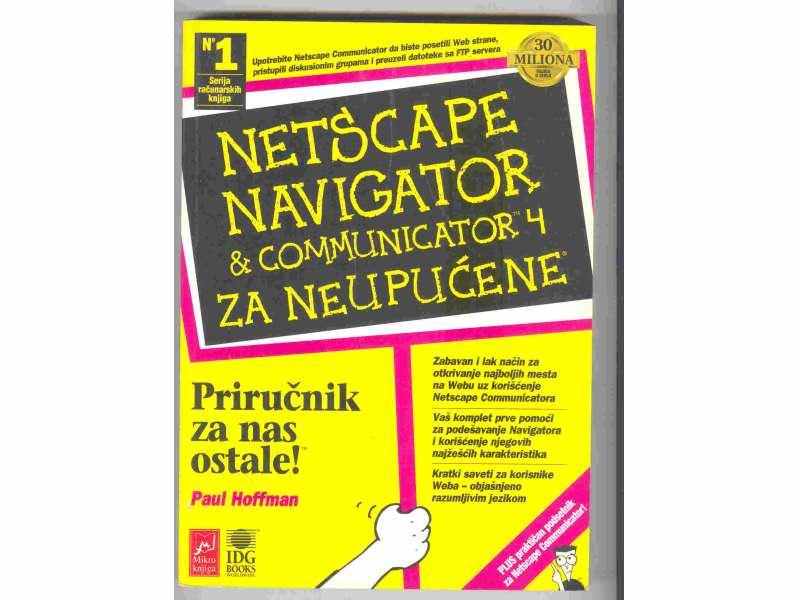 P.Hoffman:Netscape navigator &comunicator 4 za neupucen