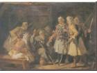 PAJA JOVANOVIĆ 1859-1957 / `Čitanje sudbine`, ulje