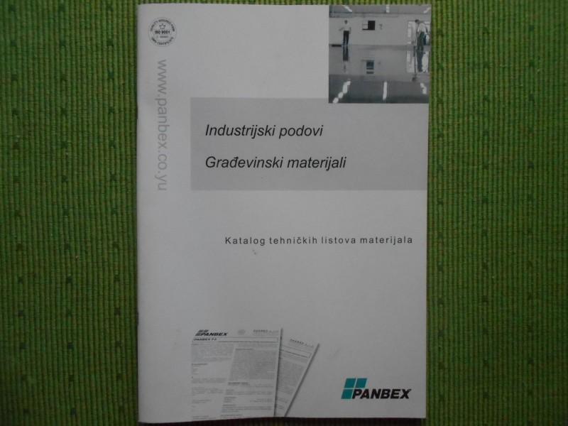 PANBEX Industrijski podovi Građevinski materijali ...