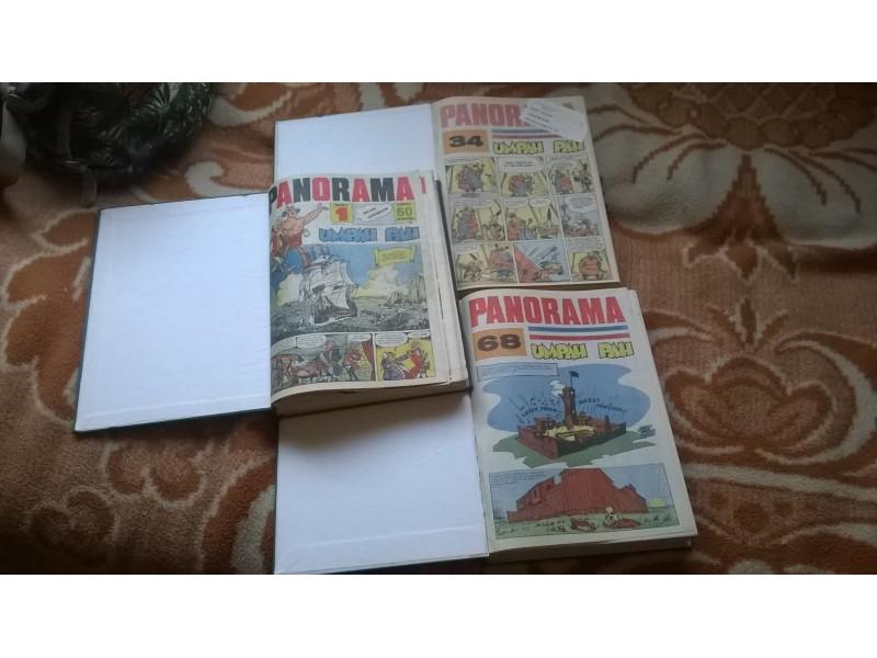 PANORAMA od br. 1 - 99 , u 3 TOMA