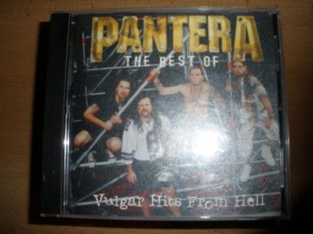 PANTERA - Vulgar Hits From Hell (The Best Of Pantera)