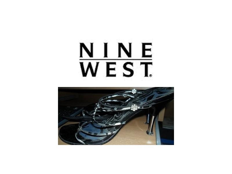 PAPUCE CRNE NINE WEST ORIGINAL