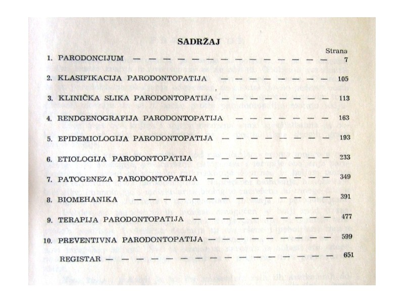 PARODONTOPATIJE - Đ.Đajič, D.Đukanović, O.Zelić  I.Ursu