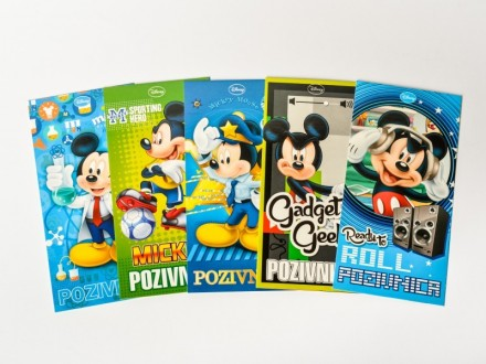 PARTY Mickey Mouse pozivnica 319700