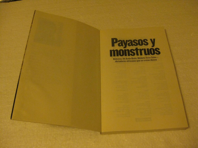 PAYASOS Y MONSTRUOS Albert Sanchez Pinol