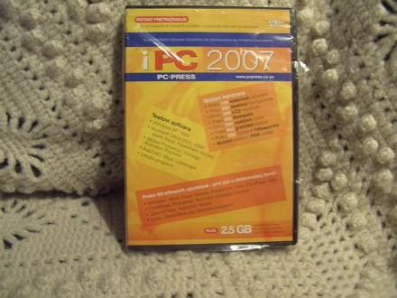 PC 2007, casopis na disku, neotpakovano,