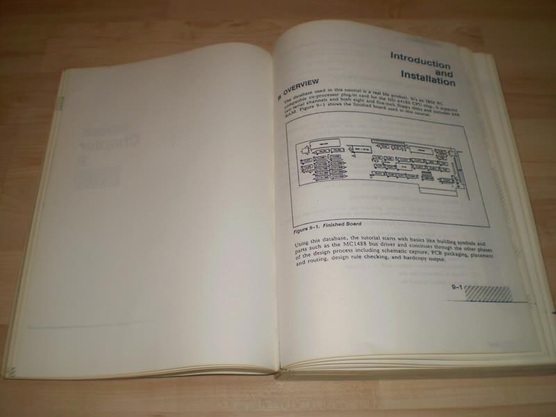PCAD - prirucnik za dizajn stampanih plocica iz 80 i 90