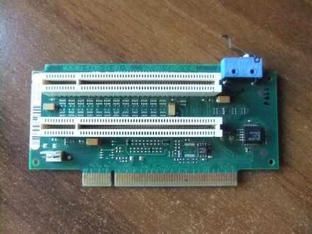 PCI kartica 2u1 sa 1 na 2 PCI slota + GARANCIJA!