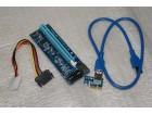 PCIE Riser Ekstender 1x na 16x USB 3.0 PCI-Express kabl