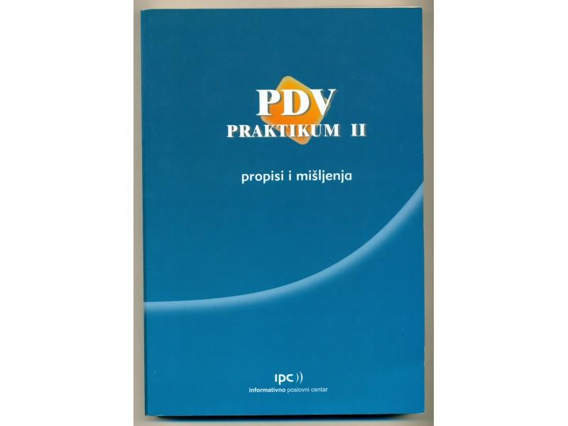 PDV PRAKTIKUM II propisi i mišljenja