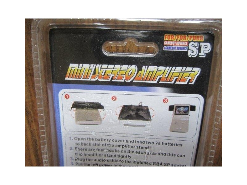 PEGA Mini Stereo Amplifier za GameBoy Advance SP