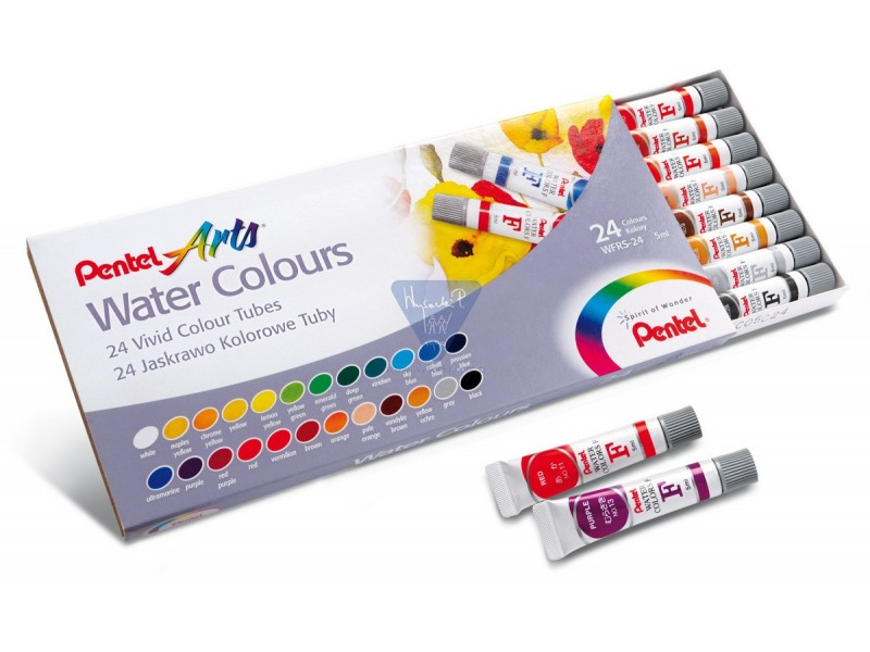 PENTEL Water Colours WFRS2-24