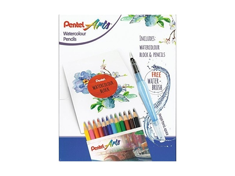 PENTEL Water Colours set CB9-12