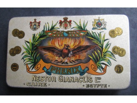 PHENIX limena kutija za cigarete