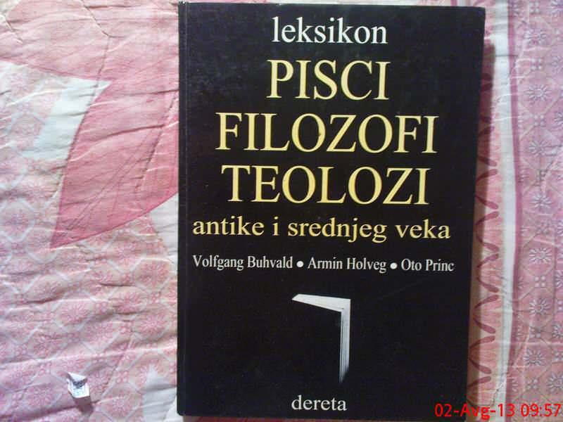 PISCI - FILOZOFI - TEOLOZI --  LEKSIKON - antike i sred