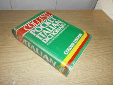 POCKET ITALIAN DICTIONARY     COLLINS
