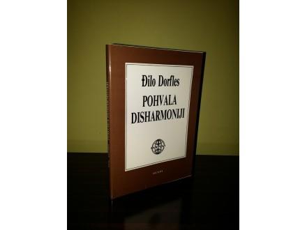 POHVALA DISHARMONIJI - Đilo Dorfles NOVO