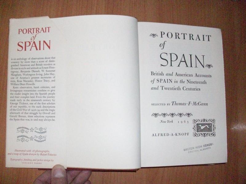 PORTRAIT OF SPAIN,priredio Thomas F.McGann