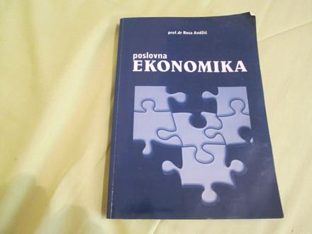 POSLOVNA EKONOMIKA- prof.dr. Rosa Andžić