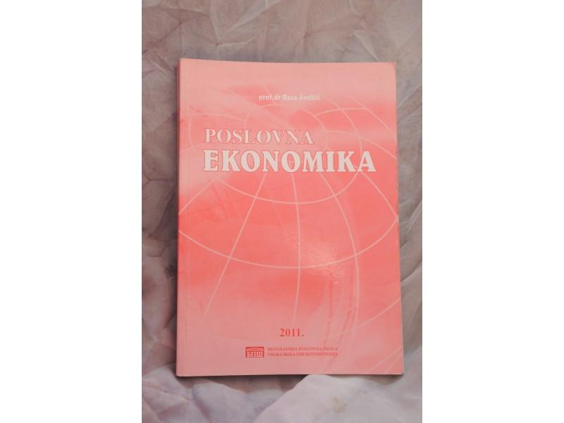 POSLOVNA EKONOMIKA - prof.dr. Rosa Andžić