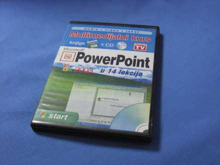 POWER POINT knjiga + CD