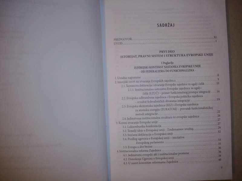 PRAVO I INSTITUCIJE EVROPSKE UNIJE - Gordana Ilić Gasmi