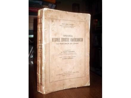 PREGLED ISTORIJE EVROPSKE KNJIŽEVNOSTI - Tigem (1932)