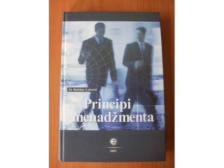 PRINCIPI  MENADŽMENTA,Dr Božidar Leković