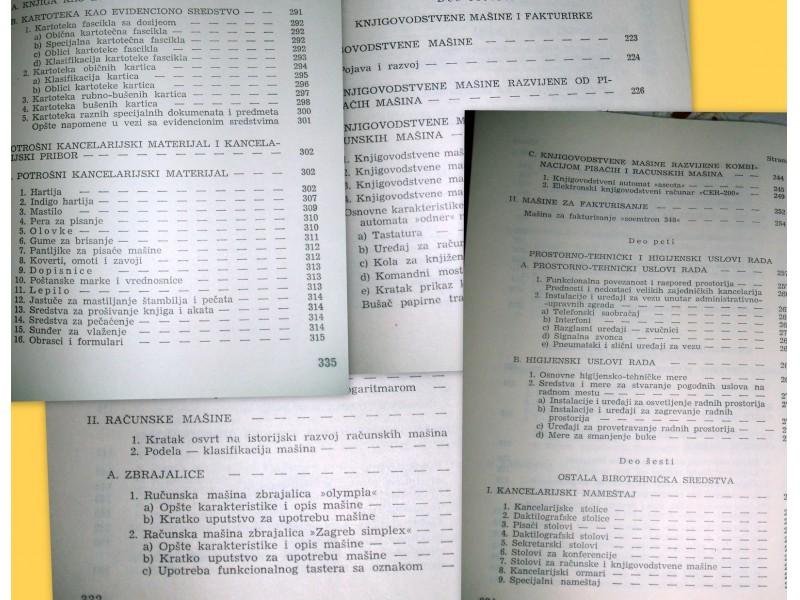 PRIRUČNIK BIROTEHNIKE - Državni sekretarijat za narodnu