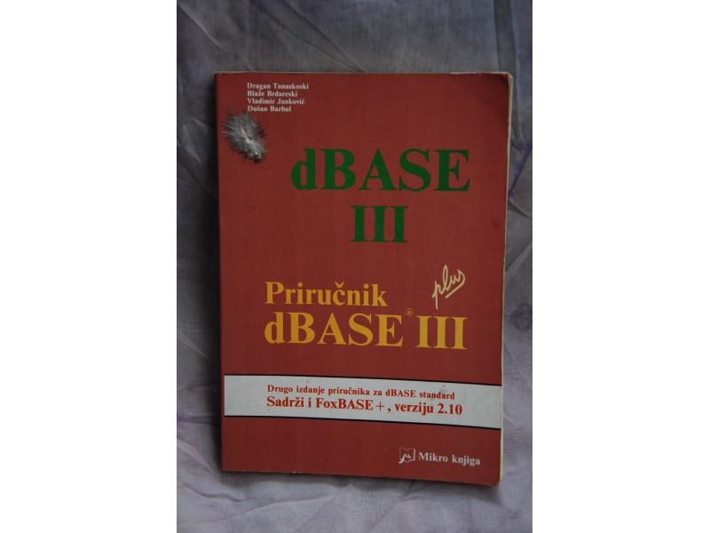 PRIRUCNIK DBASE III plus