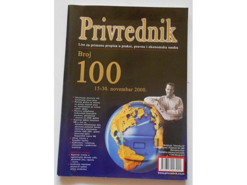 PRIVREDNIK 100-ti broj
