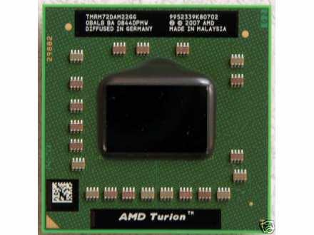 PROCESOR ZA LAPTOPOVE  AMD Turion 64 X2 RM-72  2.1GHz