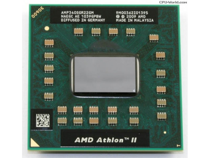 PROCESOR ZA LAPTOPOVE ATHLON II DUAL CORE 2.2GHz P340