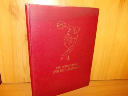 PRVI JUGOSLOVENSKI SPORTSKI ALMANAH 1930.g