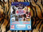PS Vita Memory Card 8GB + Action Mega Pack